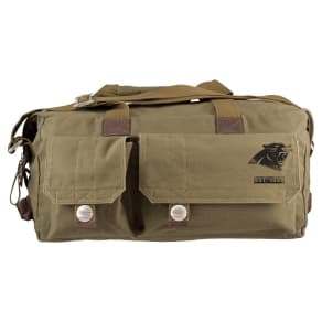 Carolina Panthers Little Earth Large Prospect Weekender Bag, Olive Drab