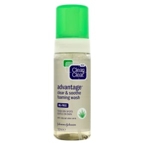Clean & Clear Advantage Clear & Soothe Foaming Wash