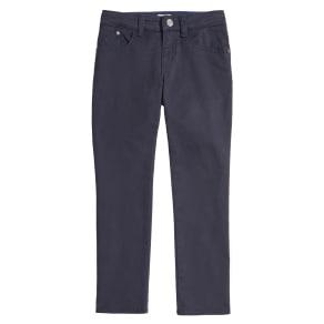 Boy's Armani Junior Stretch Cotton Chino Pants, Size 12y - Blue