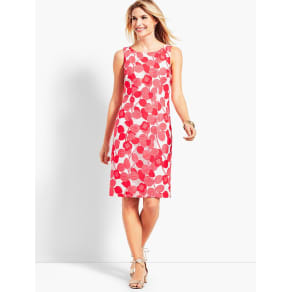 Talbots: Floral Lace Sheath Dress