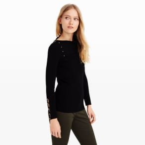 Club Monaco Color Black Baruska Sweater