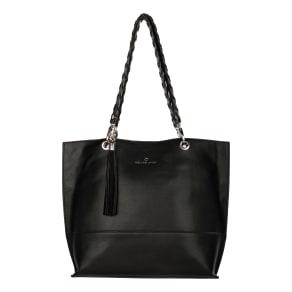 Celine Dion Espressivo Faux Leather Tote - Black