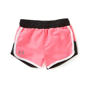 Under Armour Little Girls 2T-6X Fast Lane Colorblocked Shorts