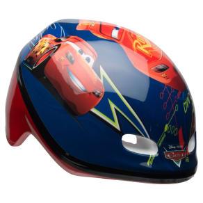 Disney Pixar's Cars Kids' Bike Helmet - Blue/Red, Multi-Colored