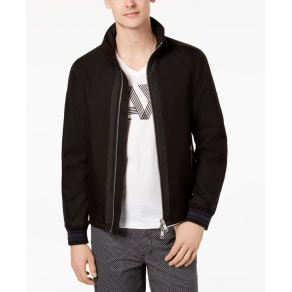 Armani Exchange Men's Mixed Media Jacket