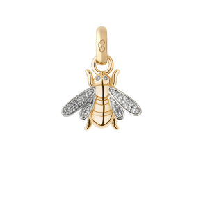 Links of London 18k Yellow Gold & Diamond Bee Charm