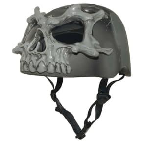 Krash! 3D Skulls Youth Helmet - Black