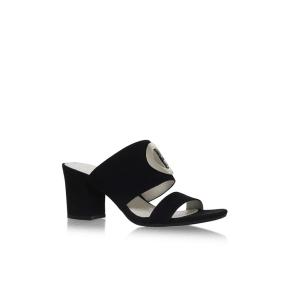 Anne Klein Black Naomi High Heel Sandals