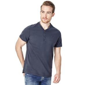 Guess T-Shirt With Buttons On The Front