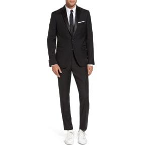Men's Calibrate Trim Fit Wool Blend Tuxedo