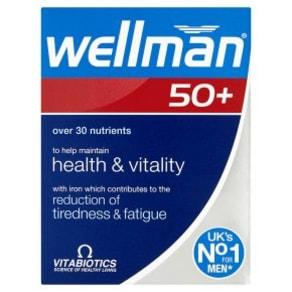 Vitabiotics Wellman 50+