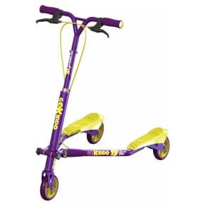 Go-Kiddo Trikke T5 Carving Scooter, Purple
