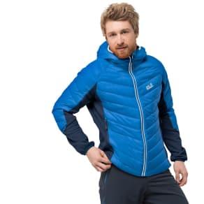 Jack Wolfskin Hybrid Jacket Men Stratosphere Jacket Men S Blue