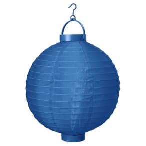 10 B/O Lantern-Sudden Sapphire - Room Essentials, Blue