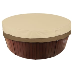 Veranda Round Hot Tub Cover 84 - Light Pebble - Classic Accessories