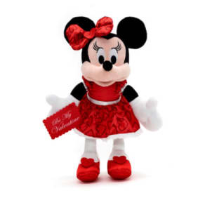 Minnie Mouse Valentine's Day Small Soft Toy