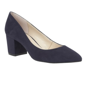 Lotus Navy 'Briars' Court Shoes