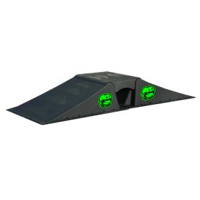 Ten Eighty 1080 Micro Flybox Launch Ramp Set, Black