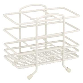 John Lewis Cutlery Basket, 4 Compartments, Cream