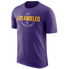 Los Angeles Lakers Nike Nba Player Practice T-Shirt - Mens - Purple