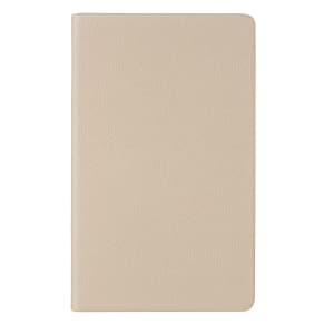 Ingrid Taupe Leather Notebook