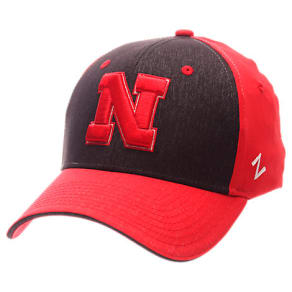 Zephyr Nebraska Cornhuskers College Challenger Stretch Fit Hat, Red