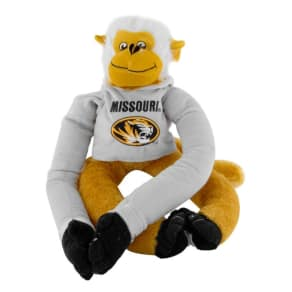 Team Beans Missouri Tigers Rally Plush Monkey