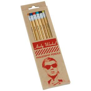 Galison Warhol Pencil Set, Pack of 8