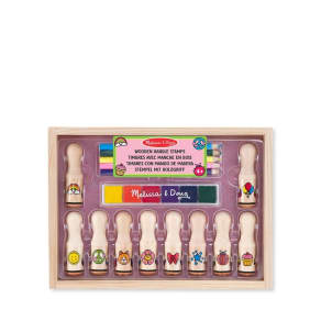 Melissa & Doug Wooden Handle Stamps