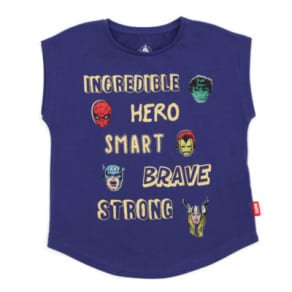 Marvel T-Shirt For Kids -  7-8 Years