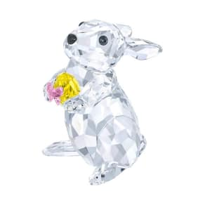 Swarovski Swarovski Rabbit With Yellow Easter Egg Color Accents