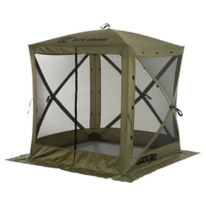 Clam Outdoors Quick-Set Traveler Screen Shelter - 4 Sided (Green)