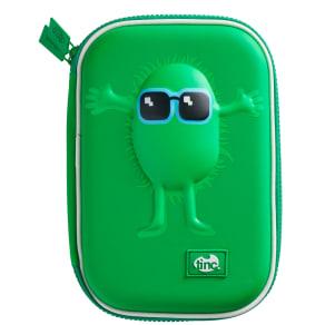 Tinc Hugga Hardtop Pencil Case, Green