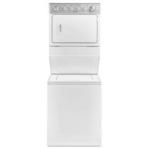 "Whirlpool Wgt4027ew 27"" Full-Size Gas Stacked Laundry Unit - White"