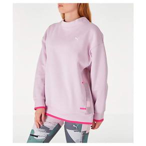 Puma Women's Chase Crew Sweatshirt, Pink