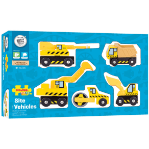 Bigjigs Rail Site Vehicles Set