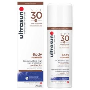Ultrasun Spf 30 Body Tan Activator, 150ml
