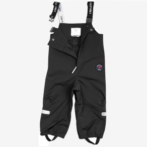 Baby Shell Dungarees - Black Quality Kids Boys Girls