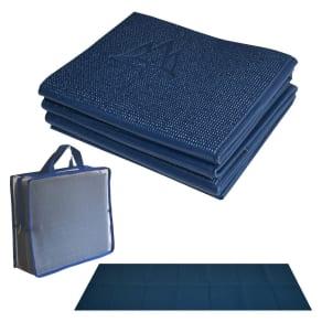 Khataland Yofomat Yoga Mat Ultra Thick Extra Long - Midnight Blue (6mm)