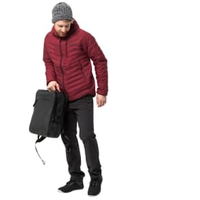 Jack Wolfskin Men's Quilted Coat Aero Trail Men S Red