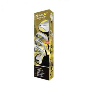 Merchants of Golf Tour X Size 1 Ages 5-7 5pc Jr Golf Club Set W/Stand Bag Right Hand