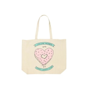 Foundation - Typo Difference Tote Bag - Donut Lovers