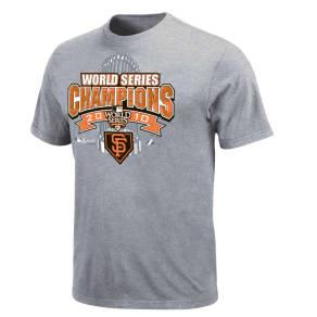 San Francisco Giants Majestic Mlb 2010 World Series Champ T-Shirt