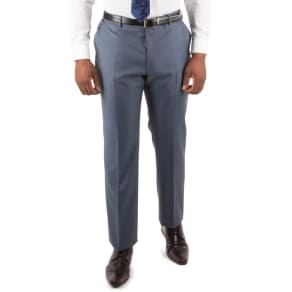 Centaur Big & Tall Petrol Pick and Pick Big and Tall Suit Trouser