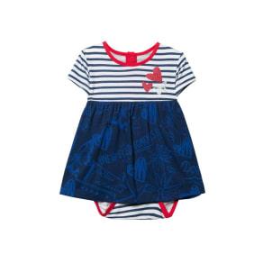 Desigual - Unisex - Dress With Bodysuit for Baby Girls - Paz - Paz - Size 24