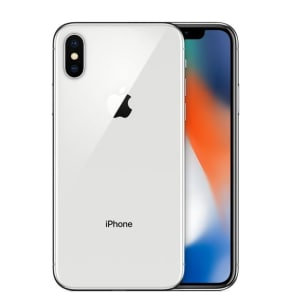 iPhone X 256GB Silver - T-Mobile SIM free