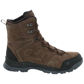 Jack Wolfskin Waterproof Winter Shoes Men Thunder Bay Texapore High Men 12 Brown