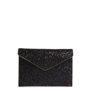 Rebecca Minkoff Leo Glitter Envelope Clutch - Purple