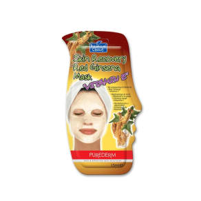 Purederm Skin Recovery Red Ginseng Mask - Vitamin E
