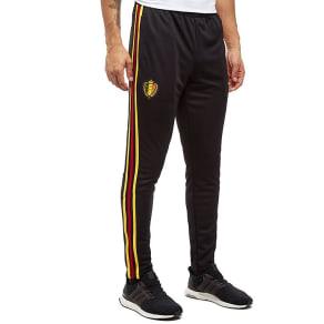 Adidas Belgium 2018 Training Pants - Black/Red/Yellow - Mens